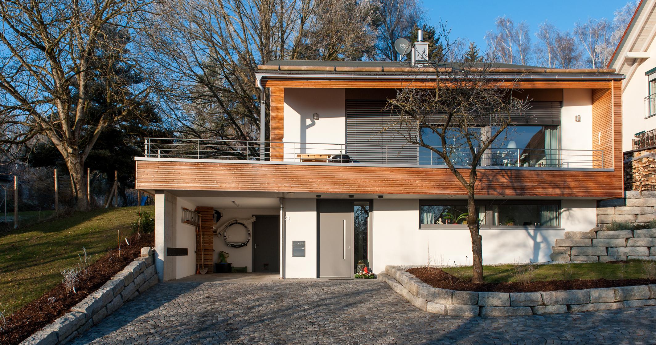 anger groh architekten einfamilienhaus in hohenpolding. Black Bedroom Furniture Sets. Home Design Ideas
